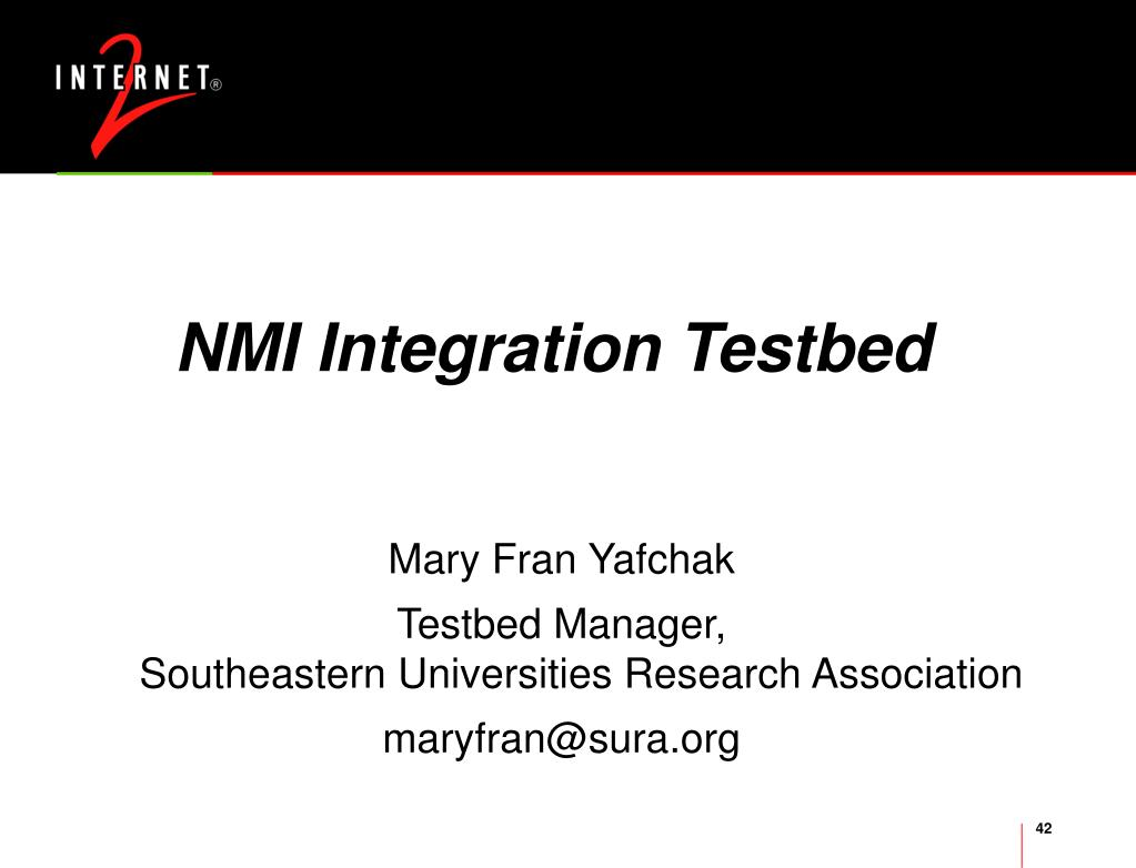 NMI Integration