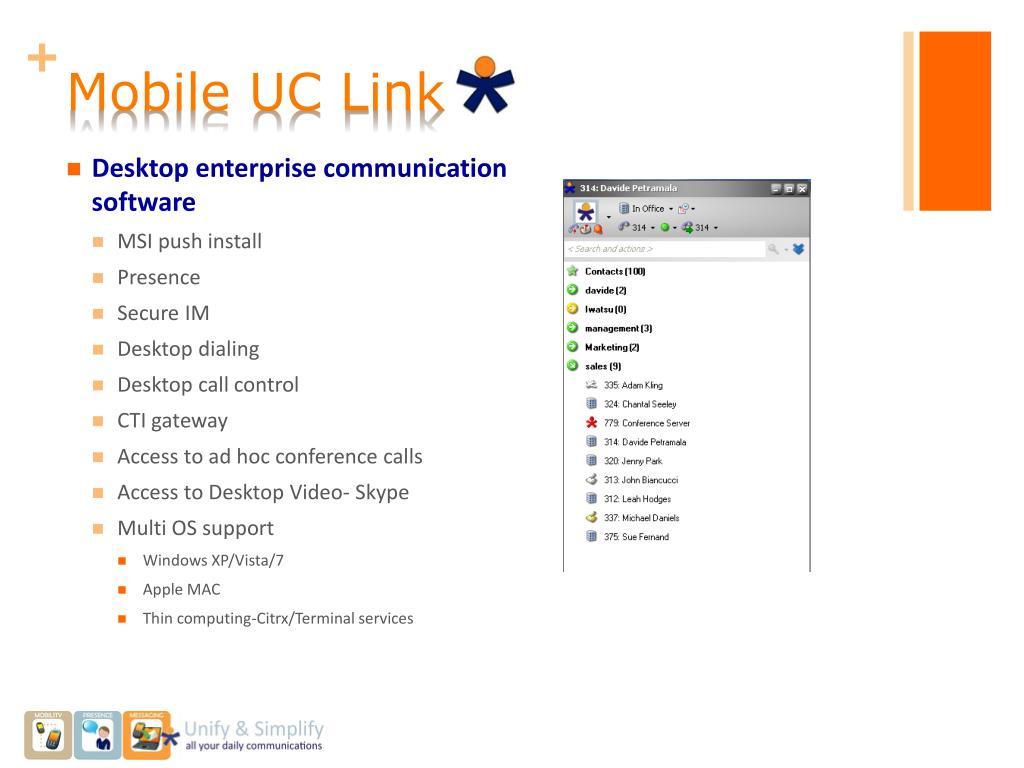 Mobile UC Link