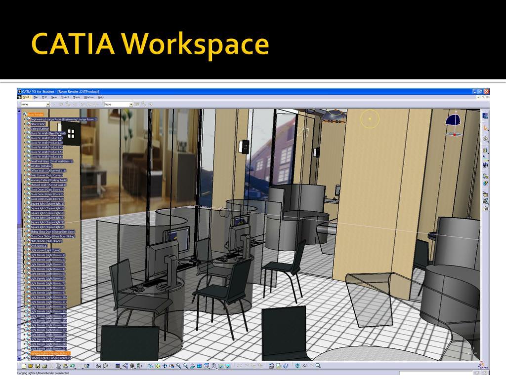 CATIA Workspace