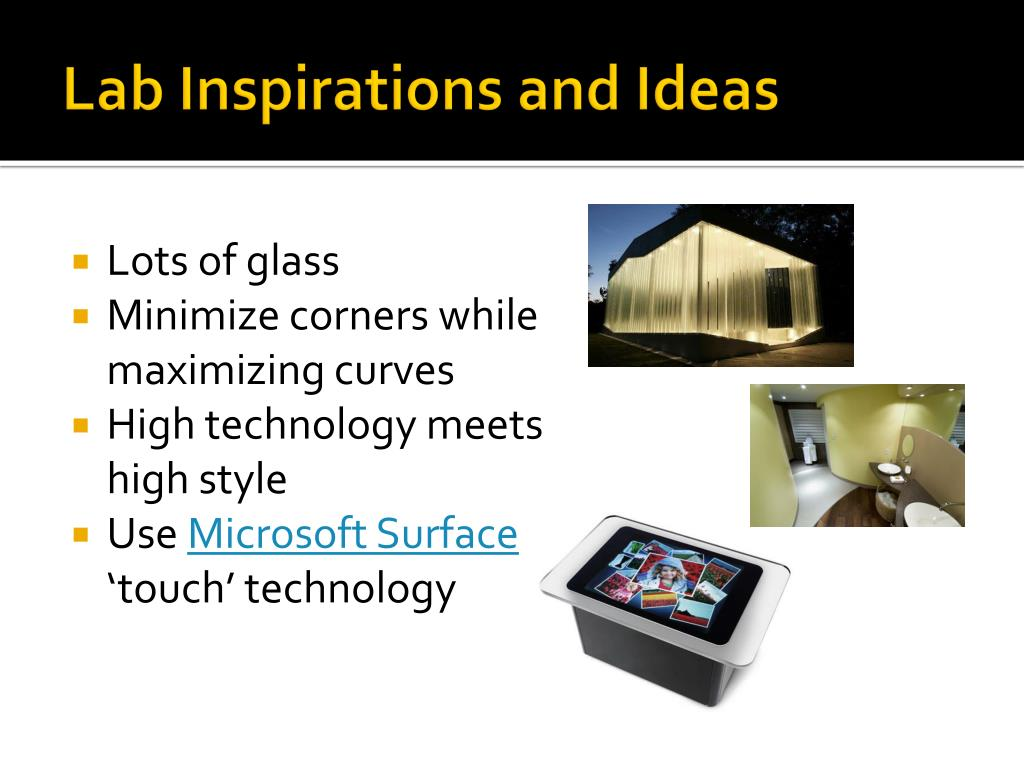 Lab Inspirations and Ideas