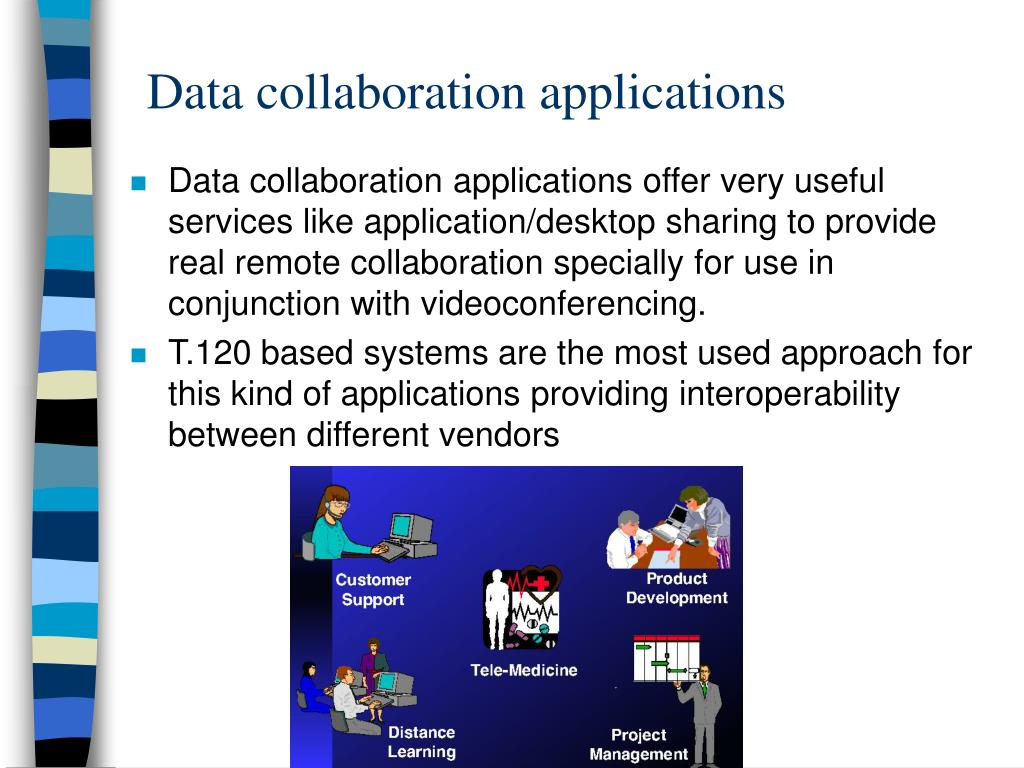 Data collaboration applications