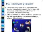 data collaboration applications