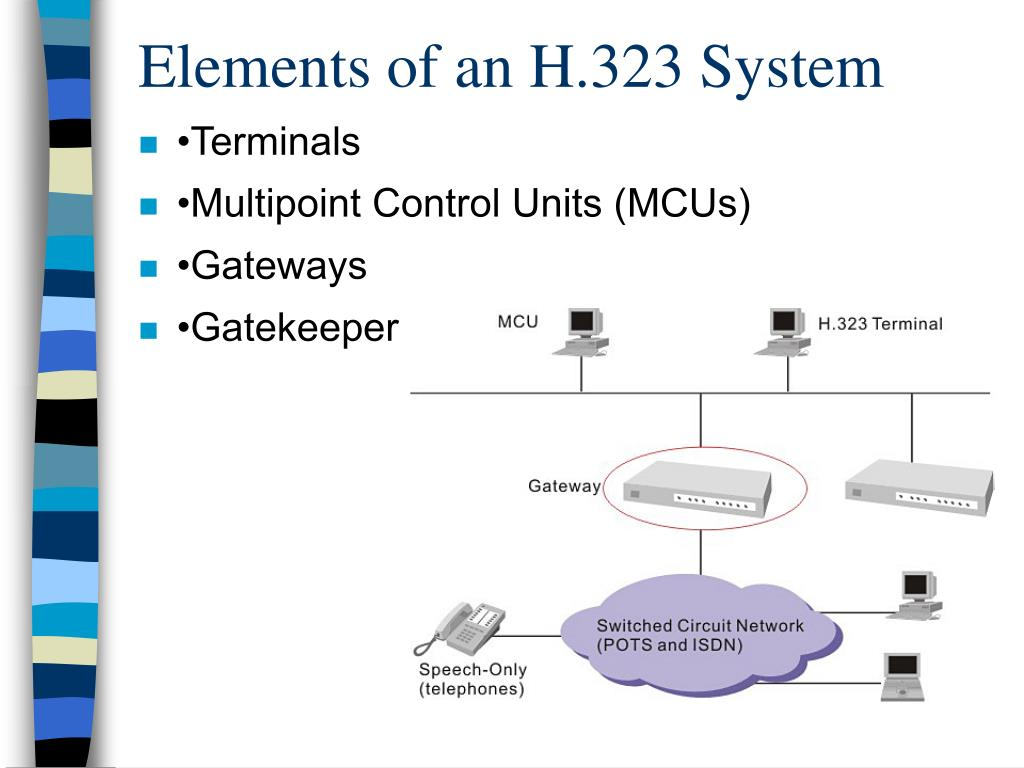Elements of an H.323 System