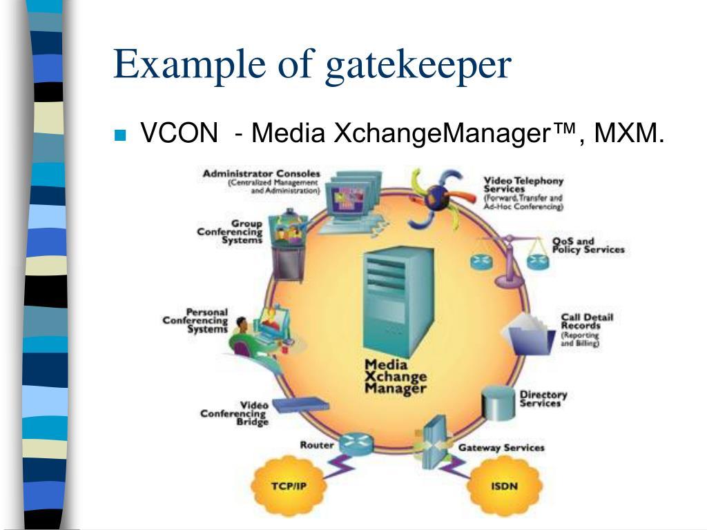 Example of gatekeeper
