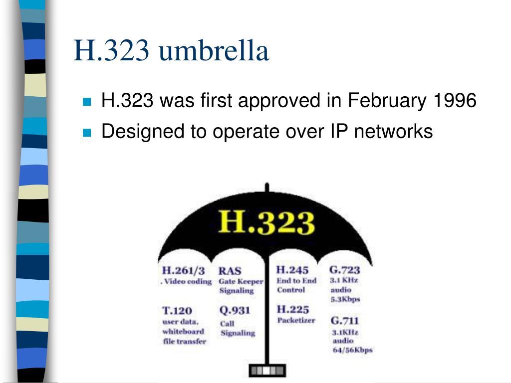 H.323 umbrella