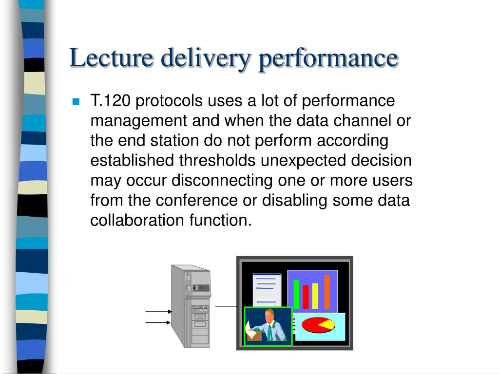 Lecture delivery performance
