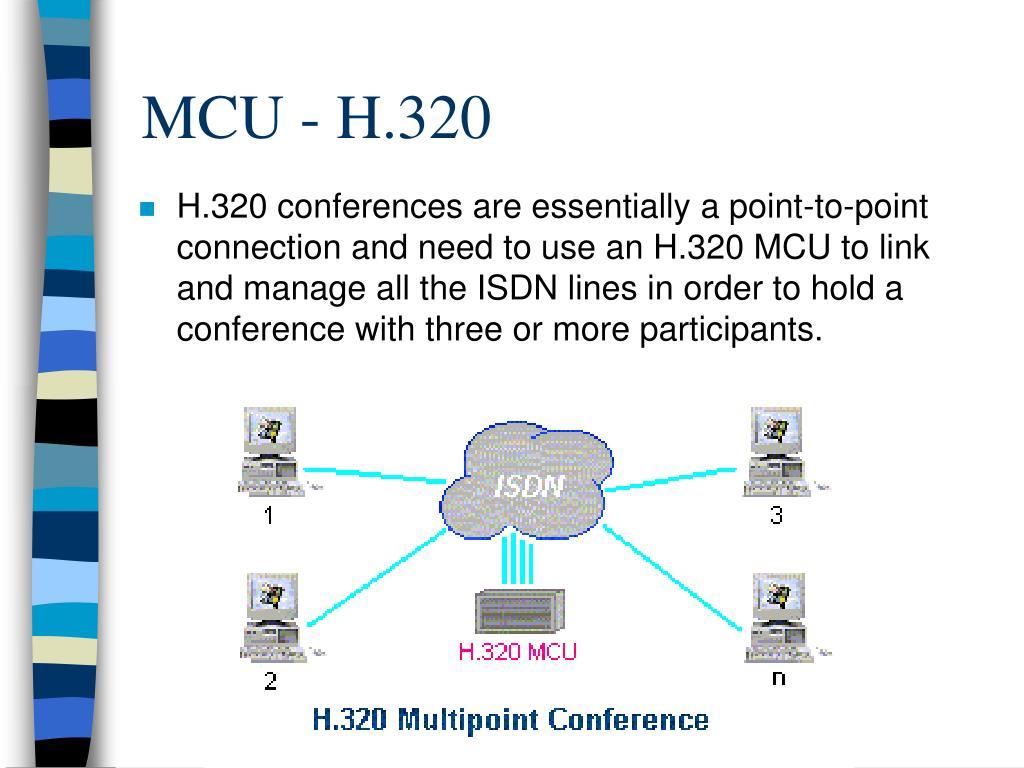 MCU - H.320