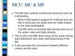 mcu mc mp
