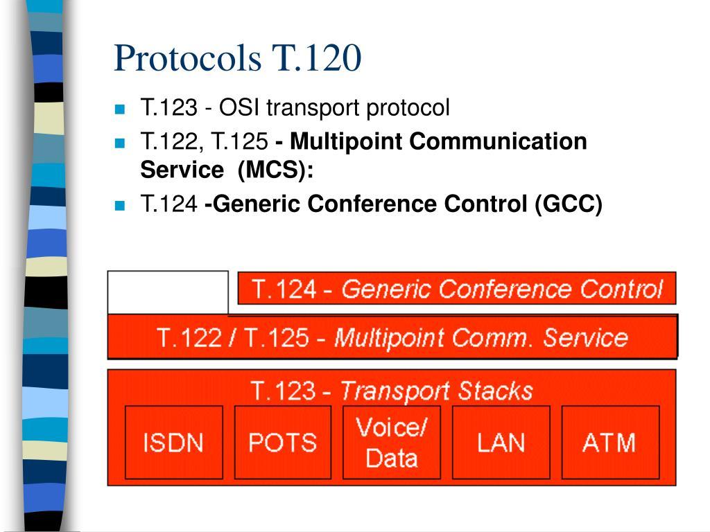 Protocols T.120