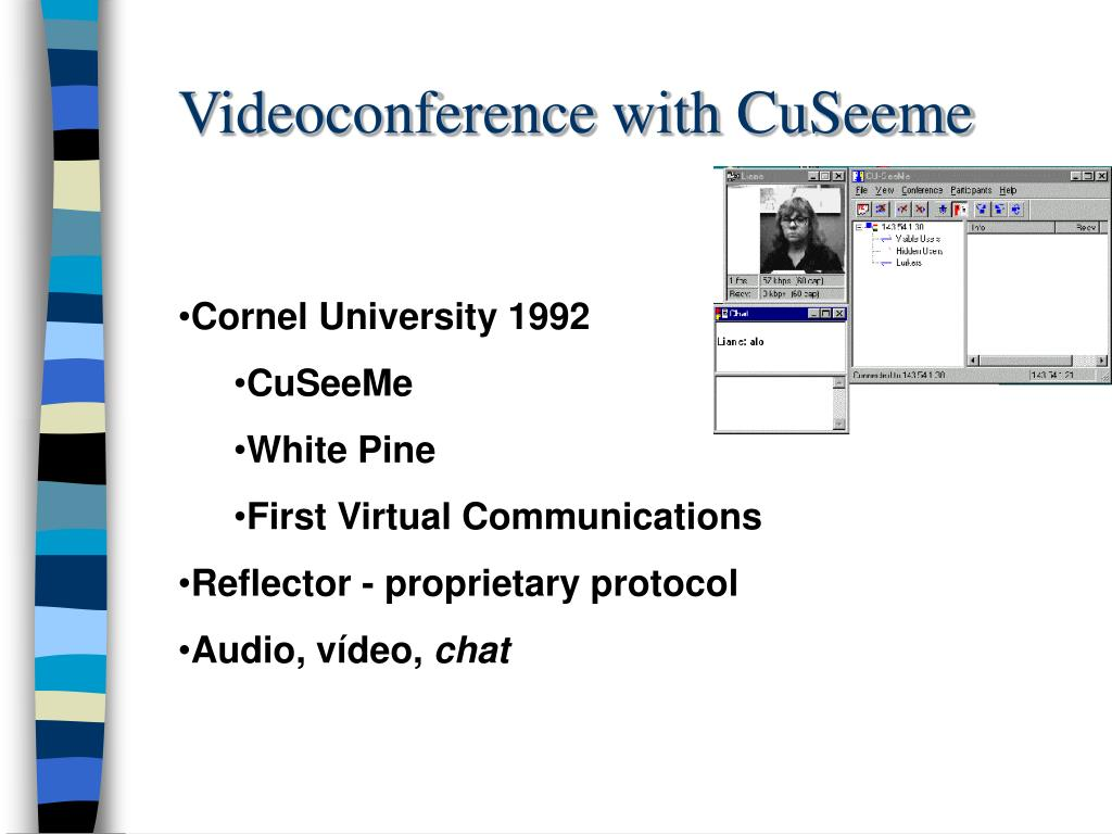Videoconference with CuSeeme