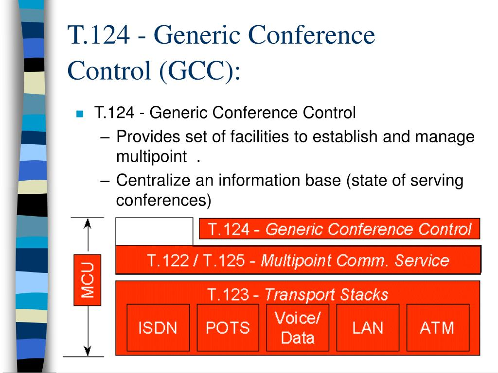 T.124 - Generic Conference Control (GCC):