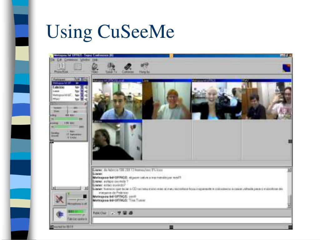Using CuSeeMe