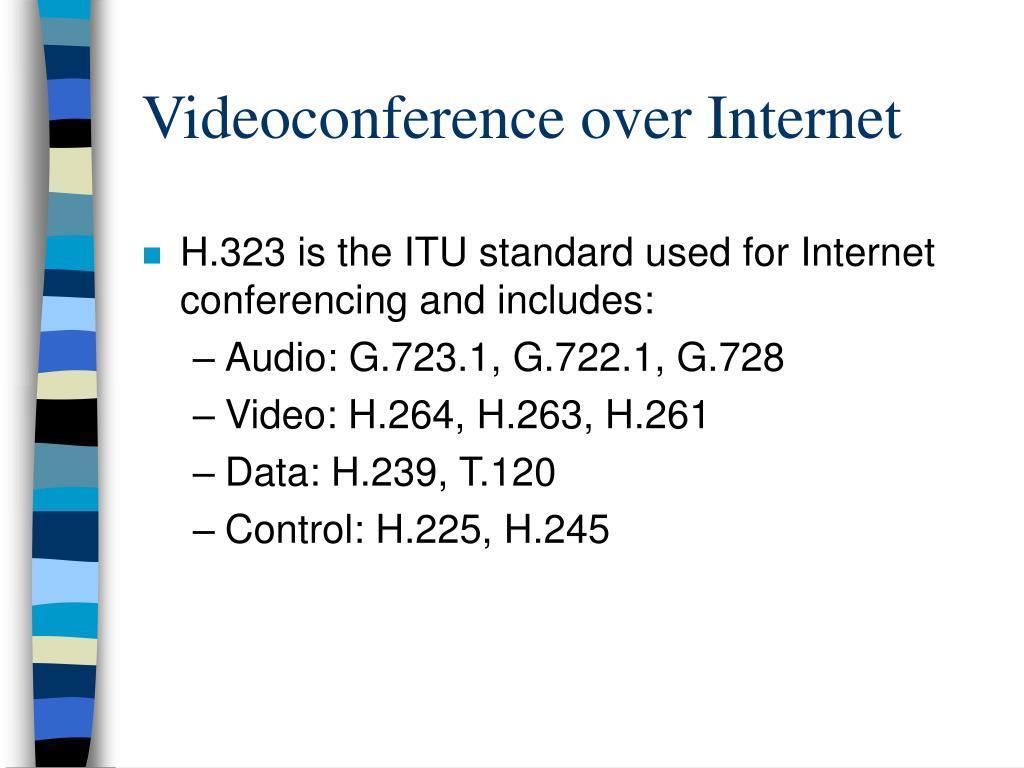 Videoconference over Internet