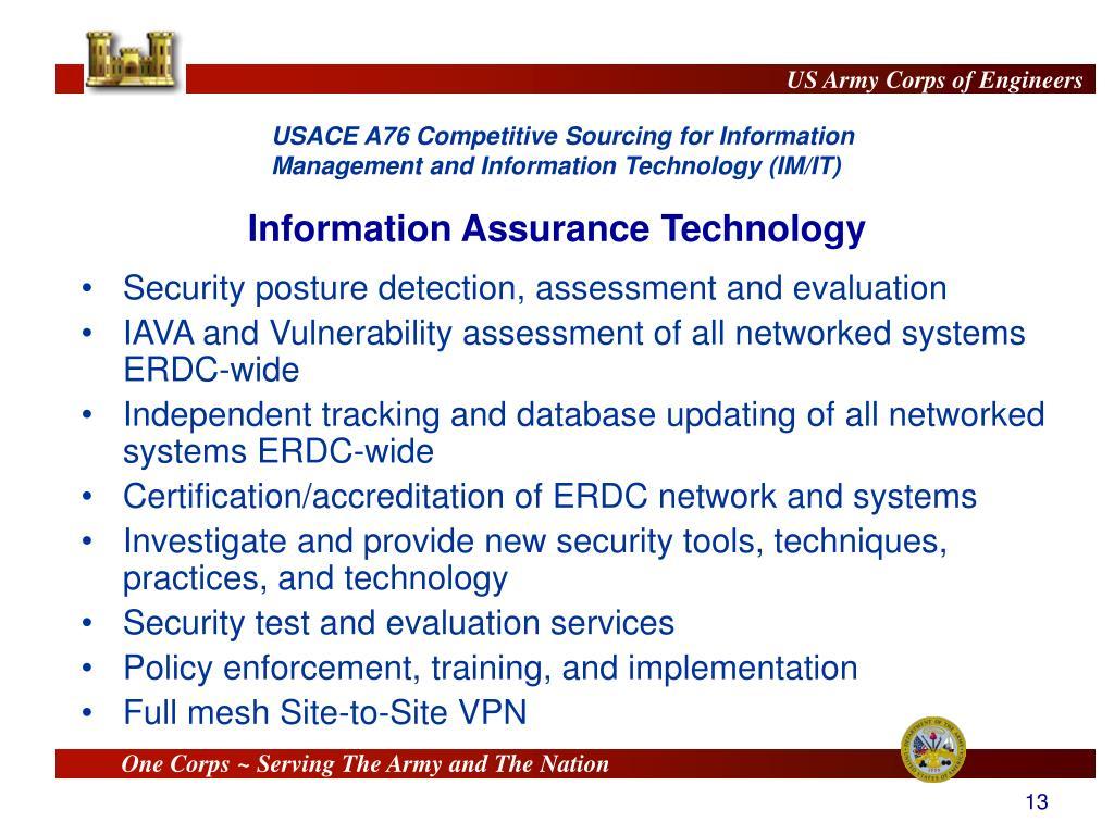 Information Assurance Technology