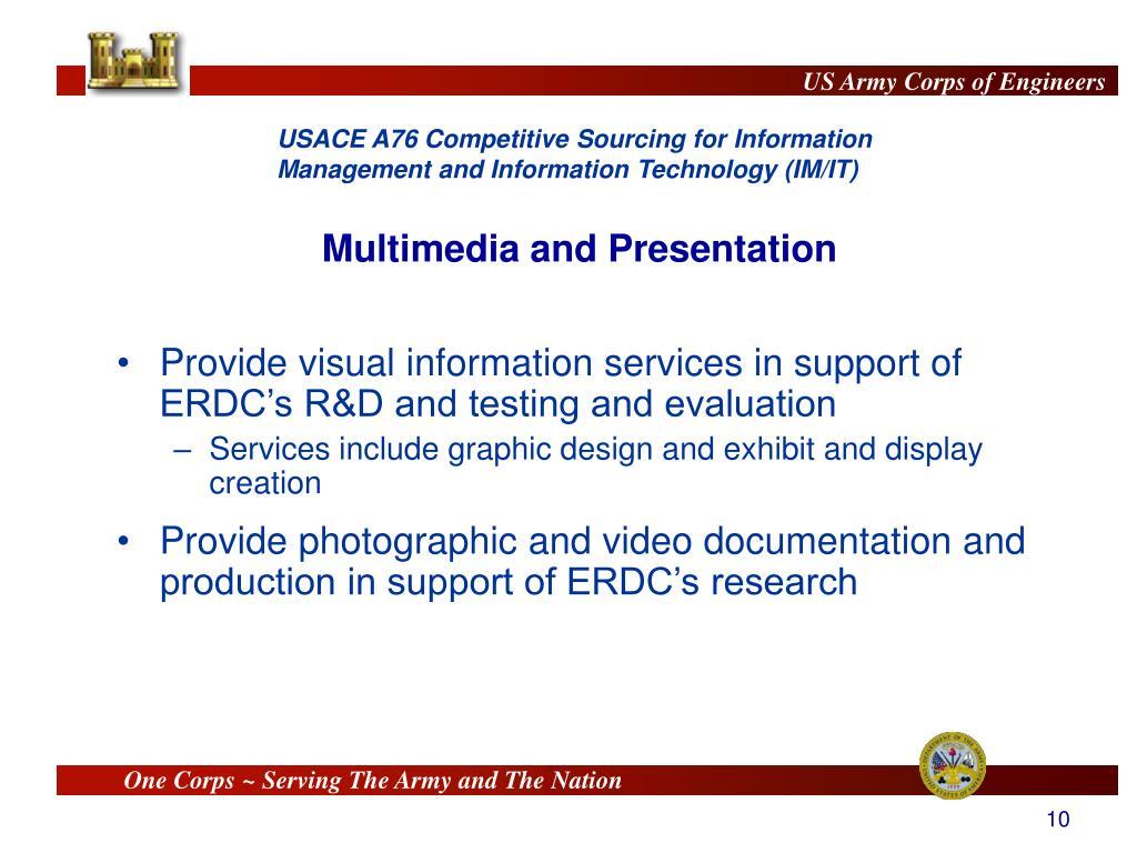 Multimedia and Presentation