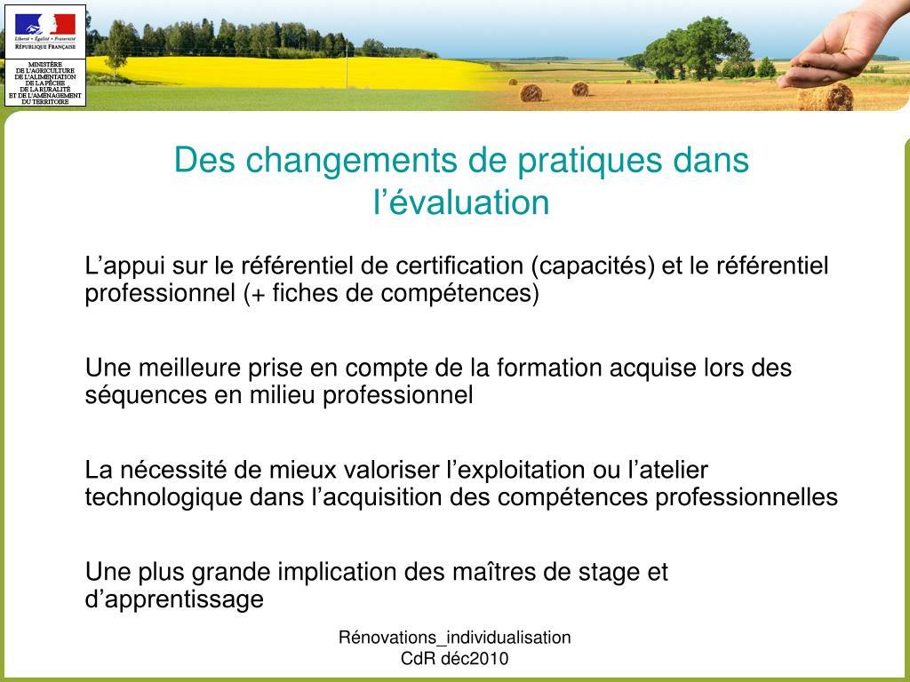 Ppt la r novation de la voie professionnelle la r forme - Grille des competences professionnelles ...