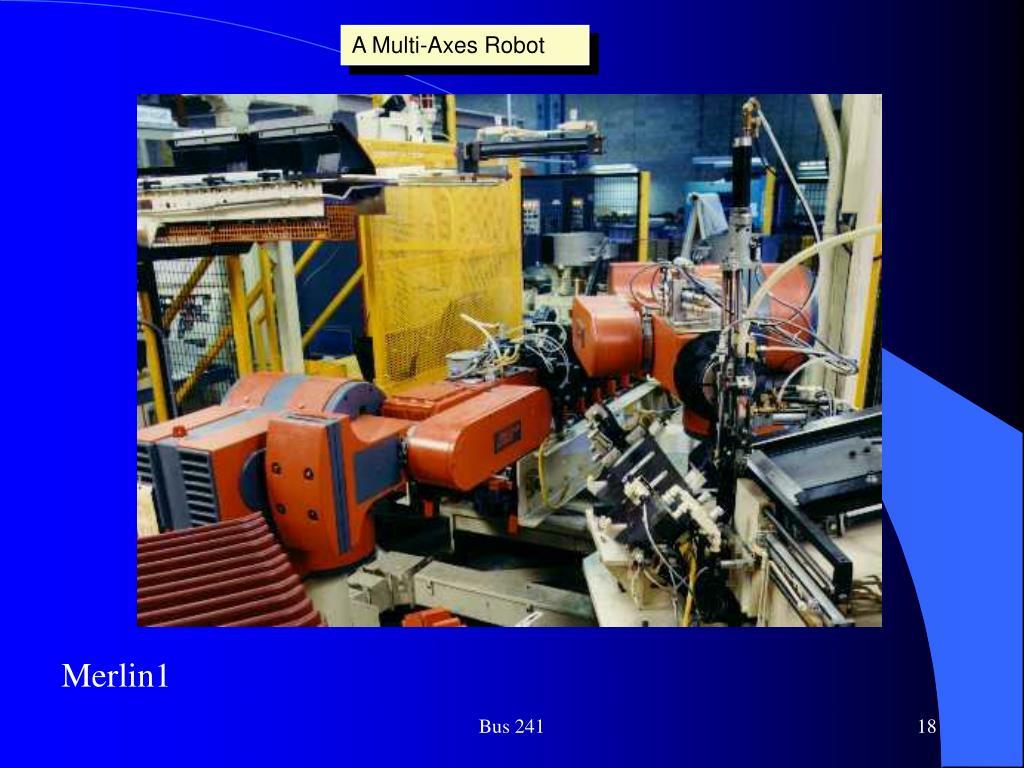 A Multi-Axes Robot