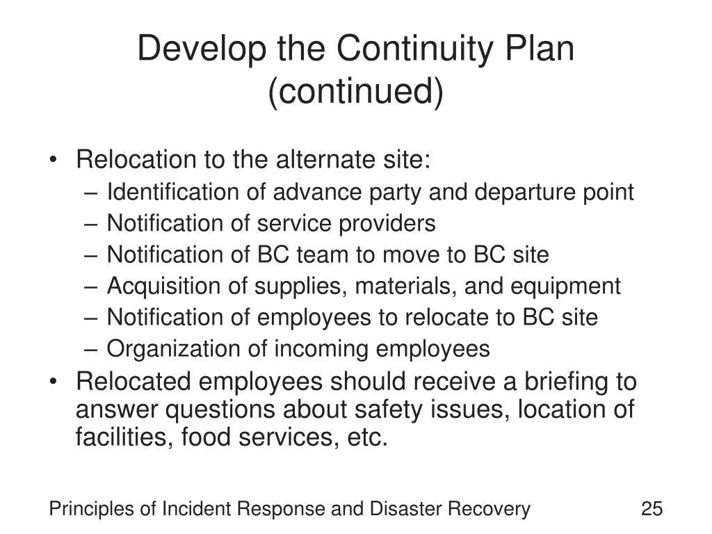 Ctma Contingency Plan Specialist