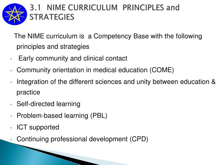 curriculum changes and development