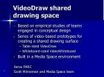 videodraw shared drawing space