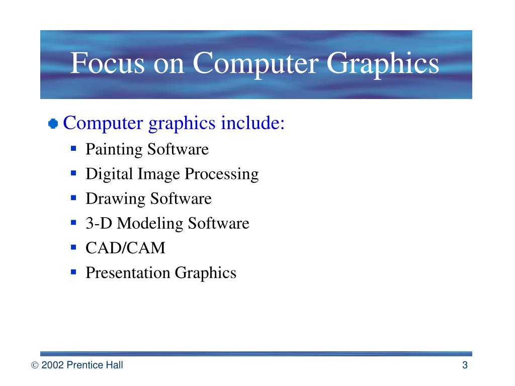 Focus on Computer Graphics