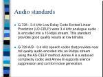 audio standards24