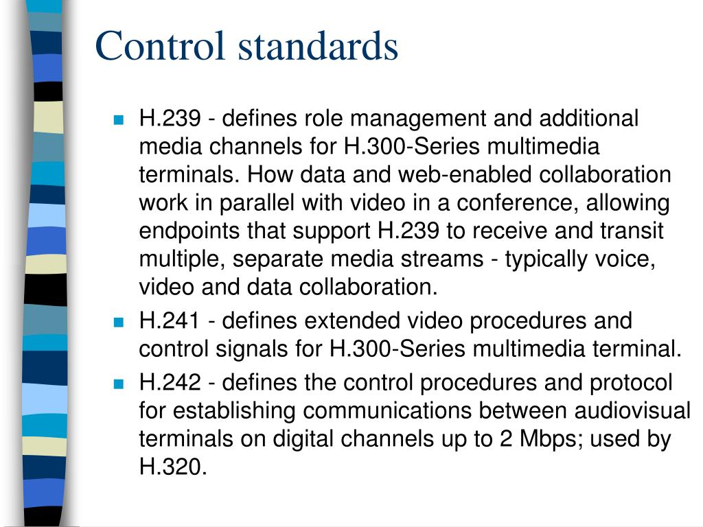 Control standards