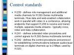control standards30