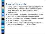 control standards31