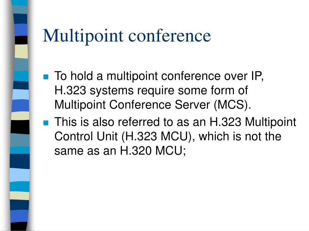 Multipoint conference