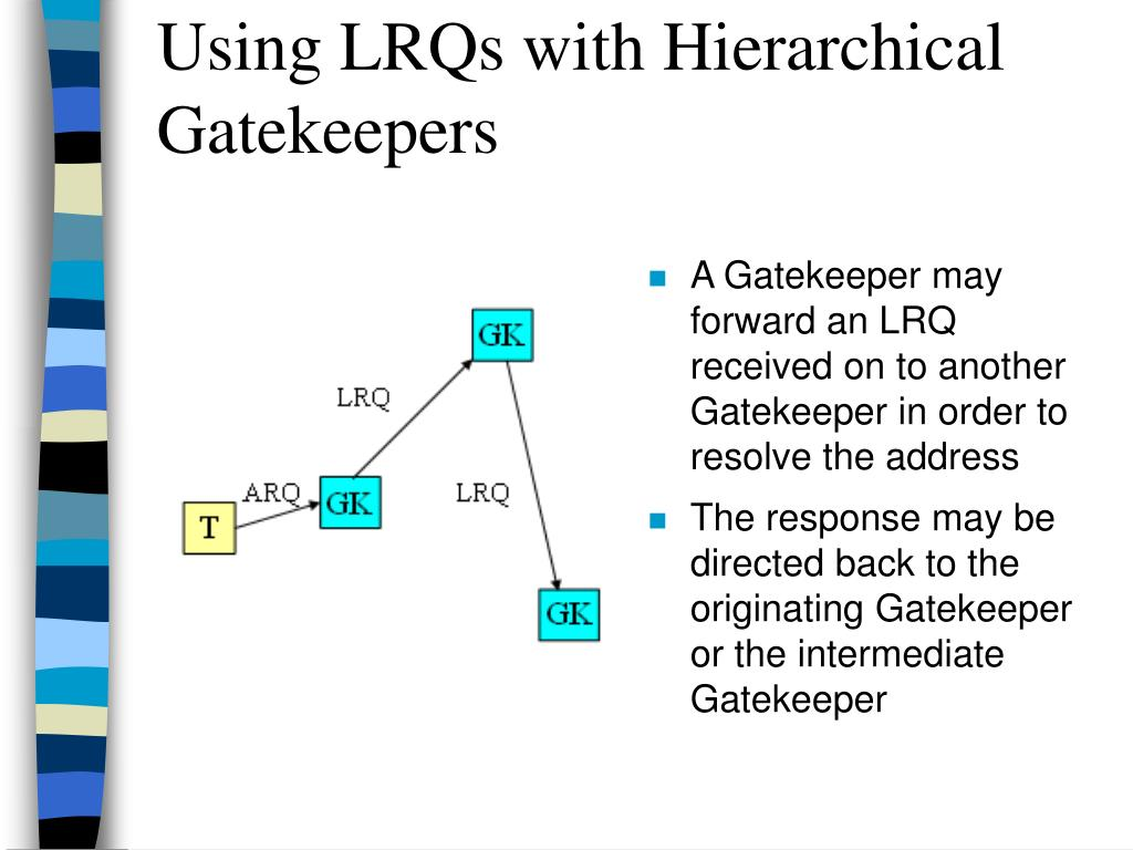 Using LRQs with Hierarchical Gatekeepers