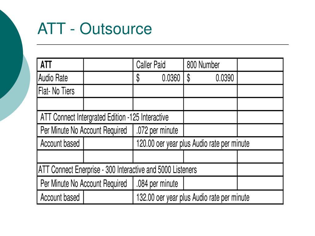 ATT - Outsource