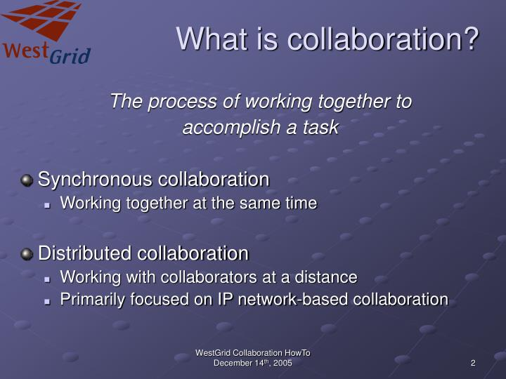 What is collaboration l.jpg