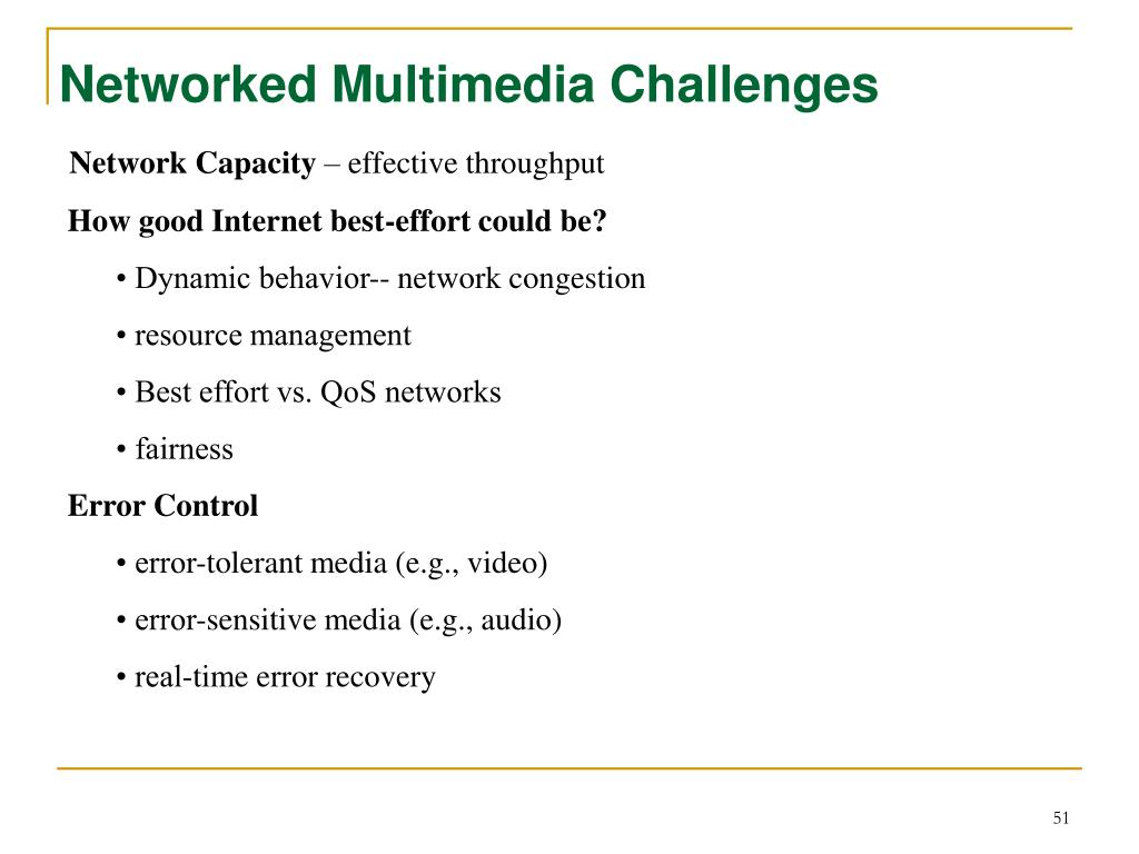 Networked Multimedia Challenges