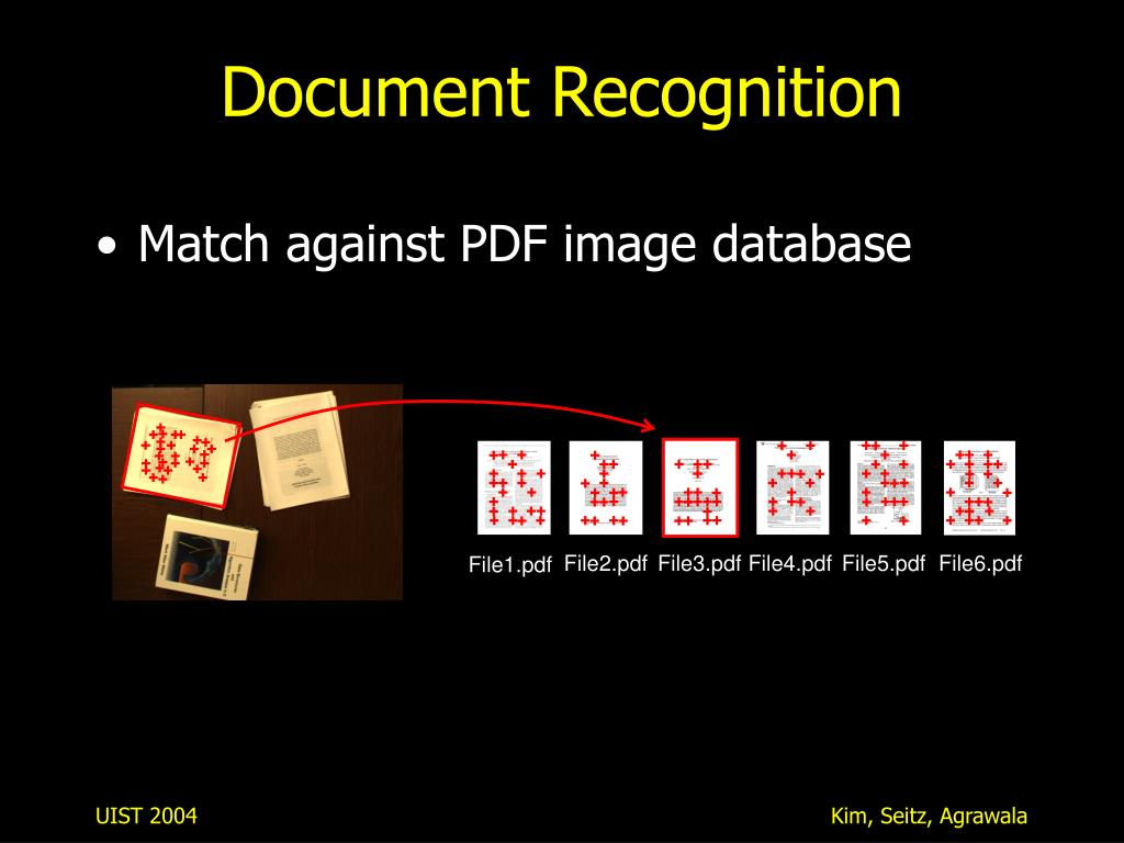 Document Recognition