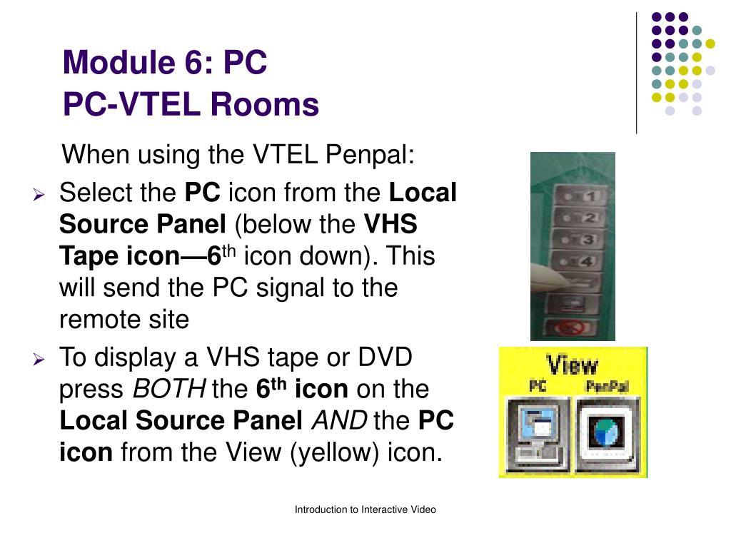 Module 6: PC