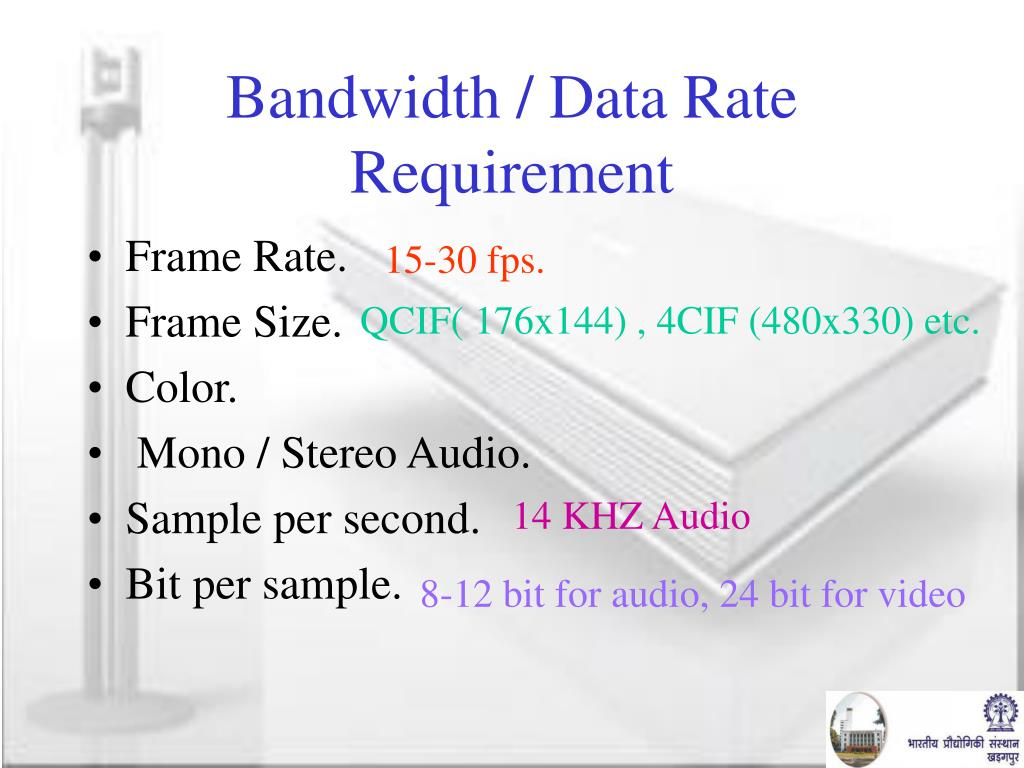 Bandwidth / Data Rate Requirement