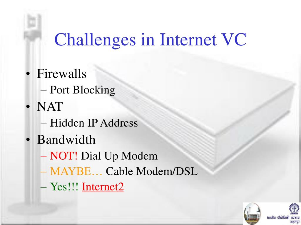 Challenges in Internet VC