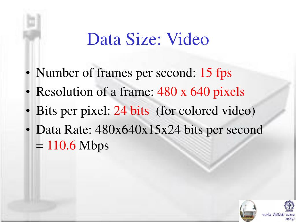 Data Size: Video