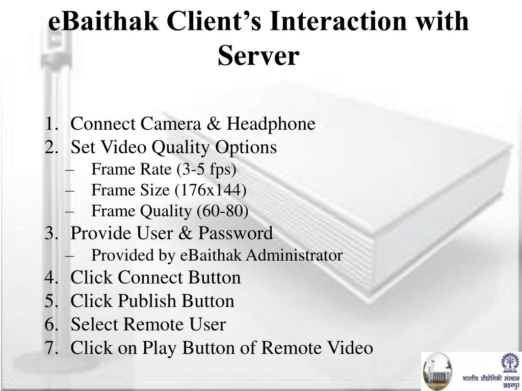 eBaithak Client's Interaction with Server