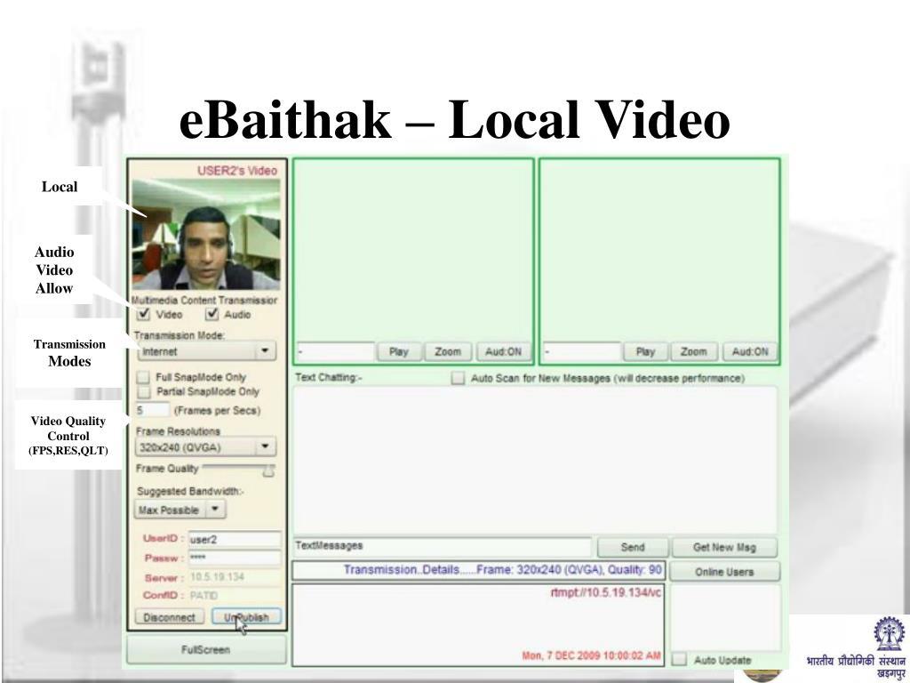 eBaithak – Local Video