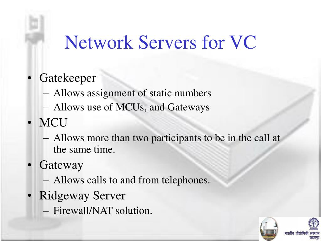 Network Servers for VC