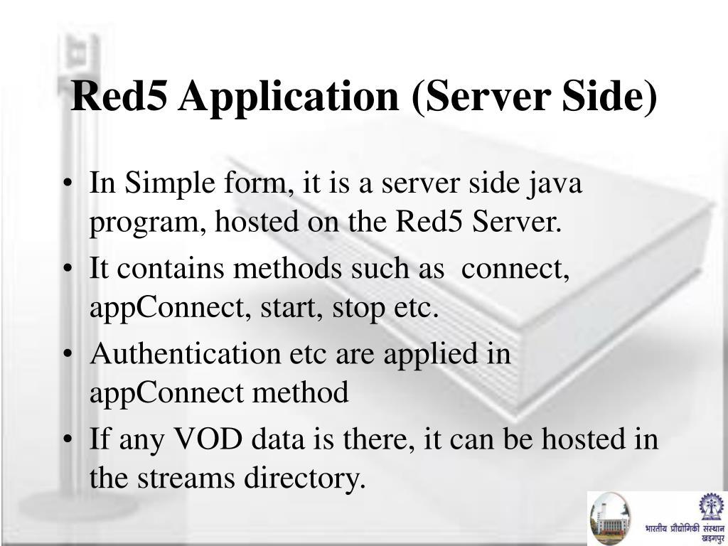 Red5 Application (Server Side)