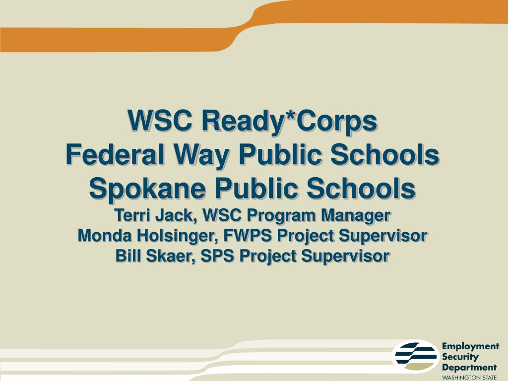 WSC Ready*Corps