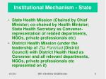 institutional mechanism state