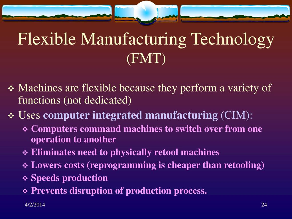 Flexible Manufacturing Technology