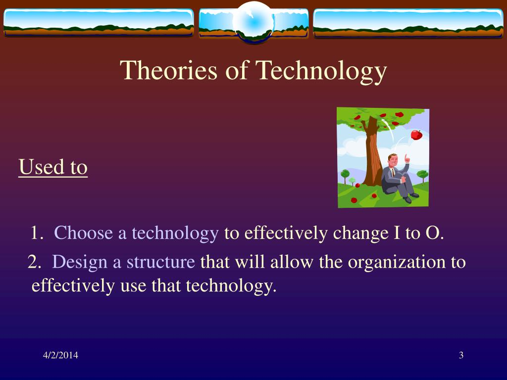 Theories of Technology