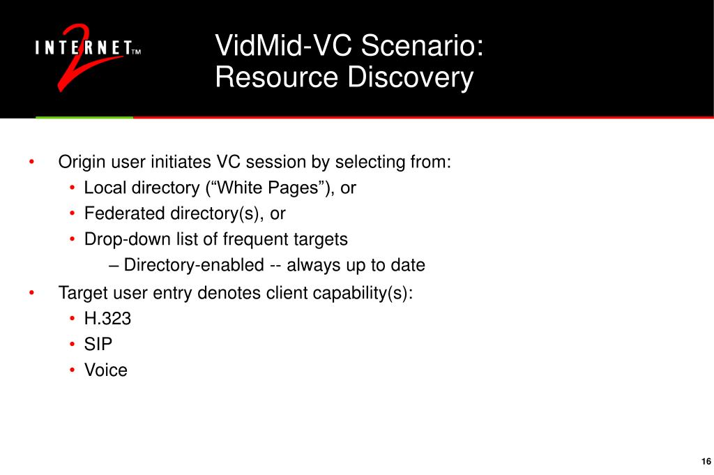 VidMid-VC Scenario: