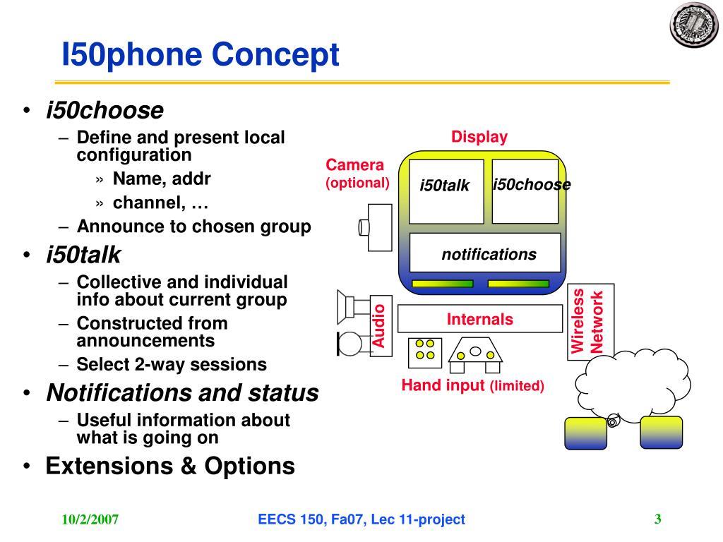 I50phone Concept