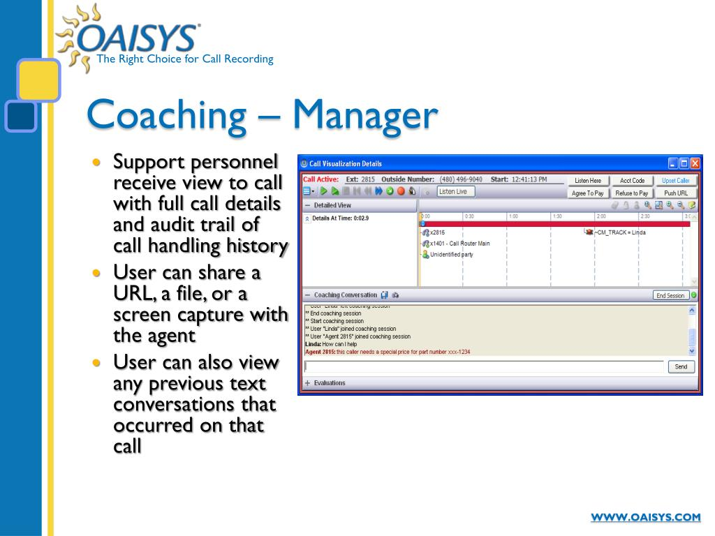 Coaching – Manager